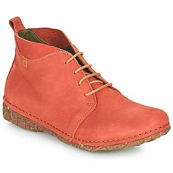 Cipők Női Csizmák El Naturalista ANGKOR Piros