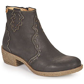 Cipők Női Bokacsizmák El Naturalista QUERA Fekete