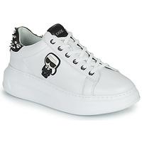 Cipők Női Rövid szárú edzőcipők Karl Lagerfeld KAPRI KARL IKONIC STUD TAB Fehér