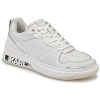 Cipők Női Rövid szárú edzőcipők Karl Lagerfeld ELEKTRA LAY UP LO Fehér