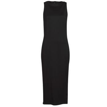 Ruhák Női Rövid ruhák Karl Lagerfeld KITTED WRAP DRESS Fekete