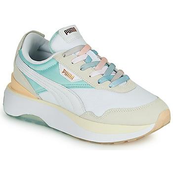 Cipők Női Rövid szárú edzőcipők Puma CRUISE RIDER Fehér / Sokszínű