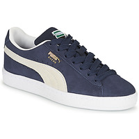 Cipők Gyerek Rövid szárú edzőcipők Puma SUEDE JR Kék / Fehér