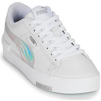 Cipők Lány Rövid szárú edzőcipők Puma JADA RAINBOW JR Fehér / Sokszínű