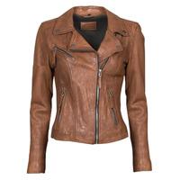 Ruhák Női Bőrkabátok / műbőr kabátok Oakwood CLIPS 6 Barna