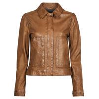 Ruhák Női Bőrkabátok / műbőr kabátok Oakwood STAMP6 Barna
