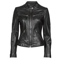 Ruhák Női Bőrkabátok / műbőr kabátok Oakwood HILLS6 Fekete