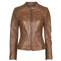 Ruhák Női Bőrkabátok / műbőr kabátok Oakwood HILLS6 Konyak