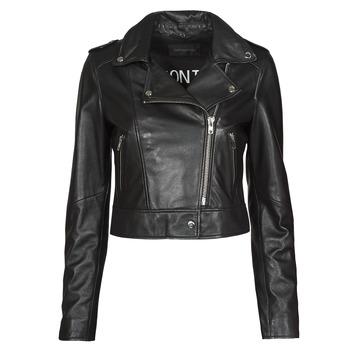 Ruhák Női Bőrkabátok / műbőr kabátok Oakwood NIKKO Fekete