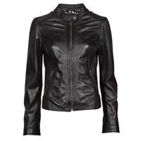 Ruhák Női Bőrkabátok / műbőr kabátok Oakwood KARINE Fekete