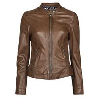 Ruhák Női Bőrkabátok / műbőr kabátok Oakwood KARINE Barna