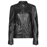 Ruhák Női Bőrkabátok / műbőr kabátok Oakwood DUBLIN Fekete