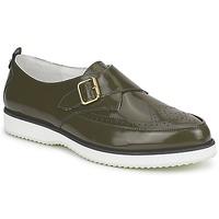 Cipők Női Mokkaszínek McQ Alexander McQueen 308658 Zöld