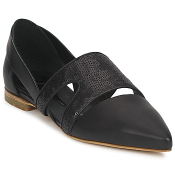 Cipők Női Balerina cipők / babák McQ Alexander McQueen 318321 Fekete