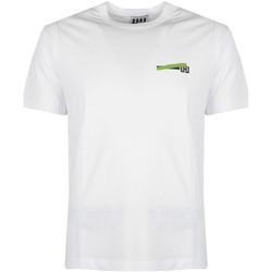 Ruhák Férfi Rövid ujjú pólók Les Hommes  Fehér