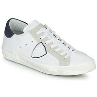 Cipők Férfi Rövid szárú edzőcipők Philippe Model PRSX LOW MAN Fehér