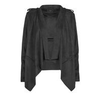 Ruhák Női Bőrkabátok / műbőr kabátok Guess SOFIA JACKET Fekete