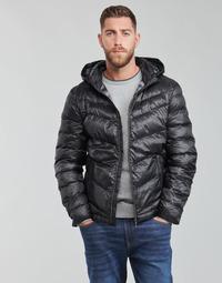 Ruhák Férfi Steppelt kabátok Guess SUPER LIGHT PUFFA JKT Fekete