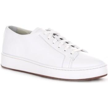 Cipők Férfi Rövid szárú edzőcipők Santoni MBCU21405MIAGUDEI20 White