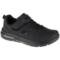 Cipők Gyerek Rövid szárú edzőcipők Skechers Dynaair Fast Pulse Fekete