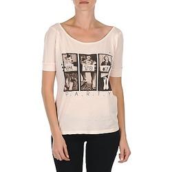 material Női Rövid ujjú pólók Bench CREEPTOWN Rózsaszín