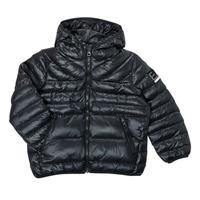 Ruhák Fiú Steppelt kabátok Emporio Armani EA7 FHALIA Fekete