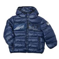 Ruhák Fiú Steppelt kabátok Emporio Armani EA7 TREDA Tengerész