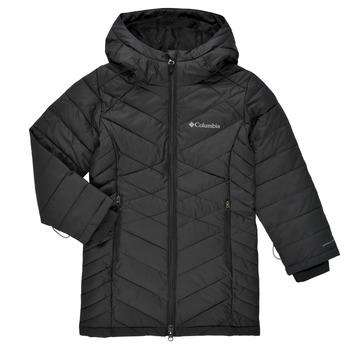Ruhák Lány Steppelt kabátok Columbia HEAVENLY LONG JACKET Fekete