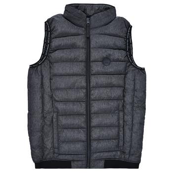 Ruhák Fiú Steppelt kabátok Deeluxe MAC Fekete