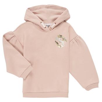Ruhák Lány Pulóverek Puma ALPHA HOODIE Rózsaszín