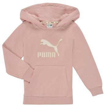 Ruhák Lány Pulóverek Puma T4C HOODIE Rózsaszín