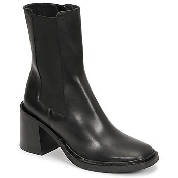 Cipők Női Bokacsizmák Jonak DANUBE Fekete