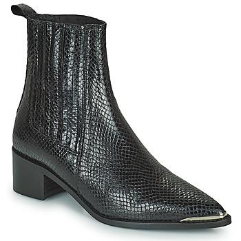 Cipők Női Bokacsizmák Jonak ARSENE Fekete