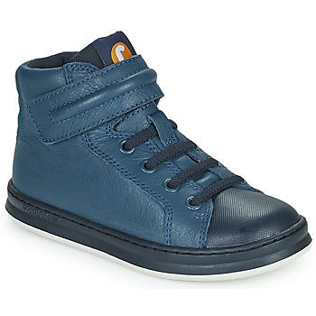 Cipők Gyerek Magas szárú edzőcipők Camper RUNNER Kék