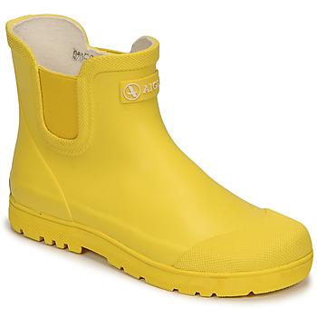 Cipők Gyerek Gumicsizmák Aigle CHELSEA 2 Citromsárga