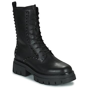 Cipők Női Csizmák Ash LIAM Fekete