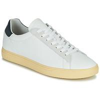 Cipők Férfi Rövid szárú edzőcipők Clae BRADLEY CALIFORNIA Fehér / Kék