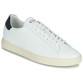Cipők Rövid szárú edzőcipők Clae BRADLEY VEGAN Fehér / Kék