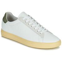 Cipők Férfi Rövid szárú edzőcipők Clae BRADLEY CALIFORNIA Fehér / Zöld