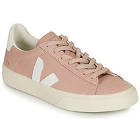 Cipők Női Rövid szárú edzőcipők Veja CAMPO Rózsaszín / Fehér
