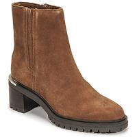 Cipők Női Csizmák Tommy Hilfiger TH OUTDOOR MID HEEL BOOT Konyak