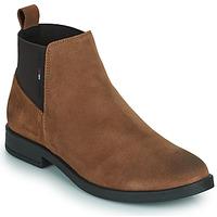 Cipők Női Csizmák Tommy Jeans ESSENTIALS CHELSEA BOOT Konyak