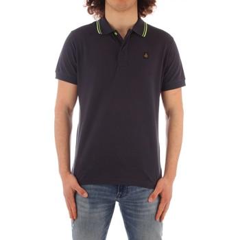 Ruhák Férfi Rövid ujjú galléros pólók Refrigiwear PX9032-T24000 BLUE