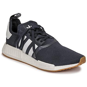 Cipők Rövid szárú edzőcipők adidas Originals NMD_R1 Tengerész / Fehér