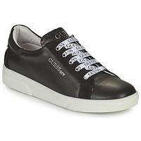 Cipők Fiú Rövid szárú edzőcipők Guess COLE Fekete