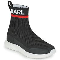 Cipők Fiú Magas szárú edzőcipők Karl Lagerfeld PELINDRA Fekete