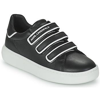 Cipők Gyerek Rövid szárú edzőcipők Karl Lagerfeld GOLINDA Fekete
