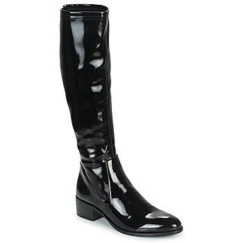 Cipők Női Városi csizmák Adige CELINE V1 VERNIS NOIR Fekete
