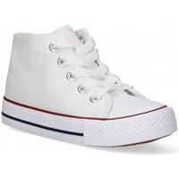 Cipők Lány Magas szárú edzőcipők Luna Collection 56834 Fehér