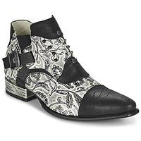 Cipők Férfi Oxford cipők New Rock M-NW135-C12 Fehér / Fekete